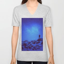 Lost the Moon While Counting Stars III Unisex V-Neck
