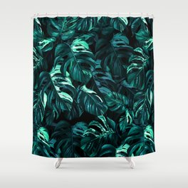 TROPICAL GARDEN XII Shower Curtain