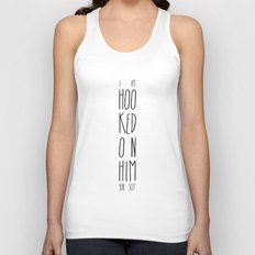 Hooked on him Unisex Tank Top