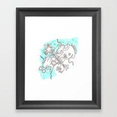 Oh animals Framed Art Print