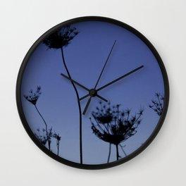 Dandelion Sunset Wall Clock