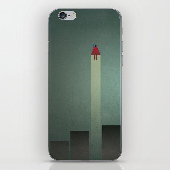 Smooth Minimal - Flying man iPhone & iPod Skin