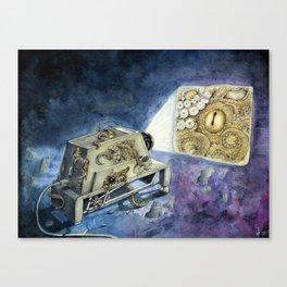 About kraken & movies Canvas Print