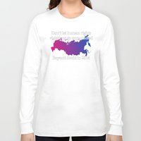 bisexual Long Sleeve T-shirts featuring Boycott Sochi - Bisexual Flag Gradient by Boycott Sochi