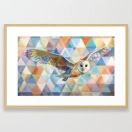 Owl Spirit Guide Framed Art Print