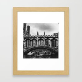 The Bridge of Sighs Framed Art Print
