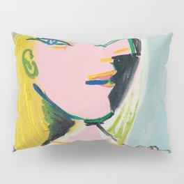 Inspired to Picasso Femme au béret orange Pillow Sham