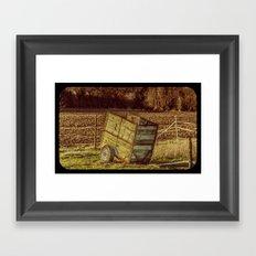 small Trailer Framed Art Print