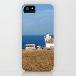 beach front lighthouse medulin croatia Istria iPhone Case