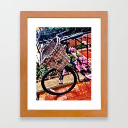 Boston Newbury Street Framed Art Print