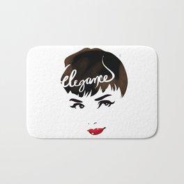 Bombshell Series: Elegance - Audrey Hepburn Bath Mat