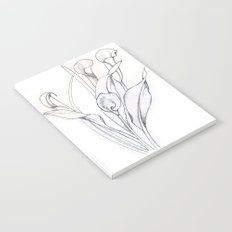 Calla Lily Point Notebook