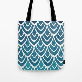Simple Wave Tote Bag