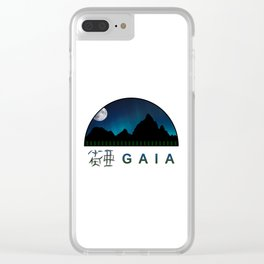 Gaia - Version 2 Clear iPhone Case