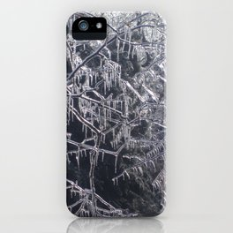 Hanging Ice Points iPhone Case