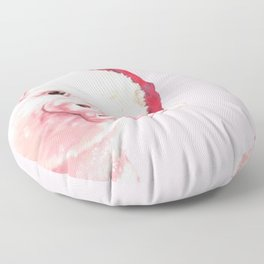 Sneaky Santa Baby Pig Floor Pillow