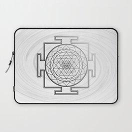 Swirly Shree Yantra Laptop Sleeve