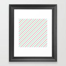 Candycane Framed Art Print