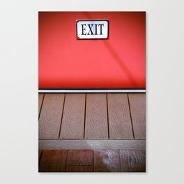 The Next Exit Canvas Print