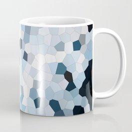 Darkness Meets Light Geometric Coffee Mug