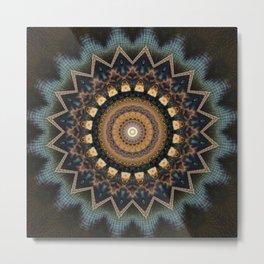 Mandala cosmic consciousness Metal Print