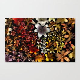 Morphological Riffing Canvas Print