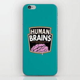 Human Brains iPhone Skin