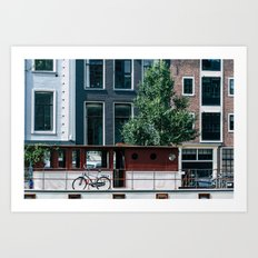A Day in Amsterdam Art Print