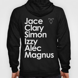 The Mortal Instruments' Main Characters Hoody