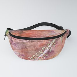 Hibiscus Flower PhotoArt Fanny Pack