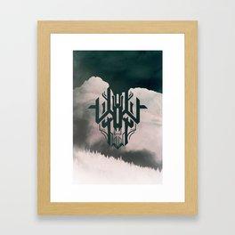 The Haunt Framed Art Print
