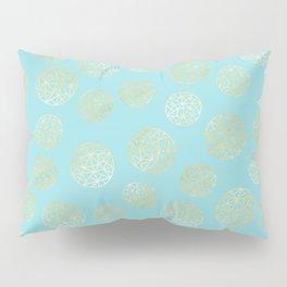 Golden Balls Pillow Sham