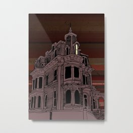 Haunted House #3 Metal Print