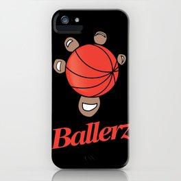 Basket ballerz grip iPhone Case