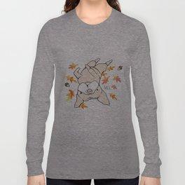 Fall Frenchie Long Sleeve T-shirt
