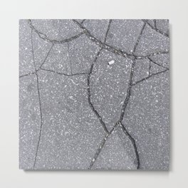 Texture #4 Concrete Metal Print