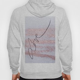 Rose Gold Love Hoody