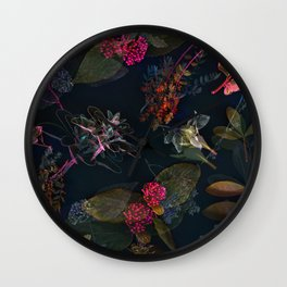Fall in Love #buyart #floral Wall Clock