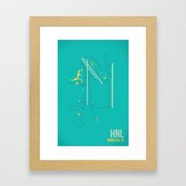 HNL Framed Art Print