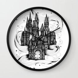 Super Magic Dream Castle Wall Clock