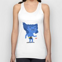 beast Tank Tops featuring Beast by Rod Perich