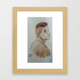Rami Malek Framed Art Print
