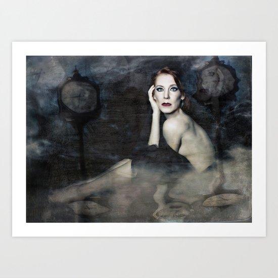 Burden of Memory Art Print