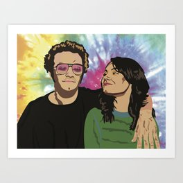 That 70s Show Jackie & Hyde Art Print
