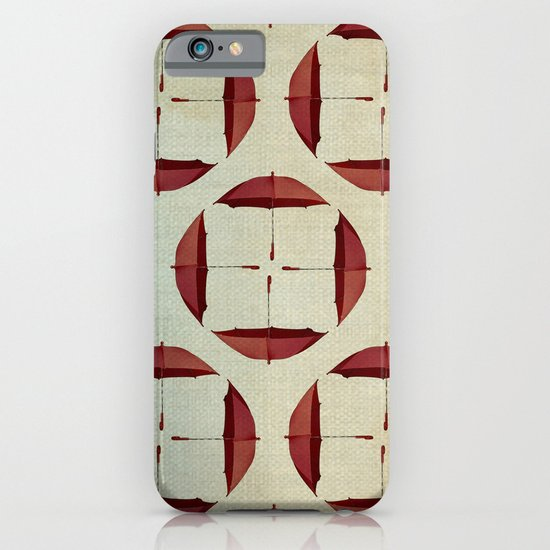 circle the umbrellas iPhone & iPod Case