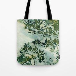 Wallpaper Foliage Tote Bag