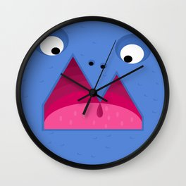Reykjavik Boulevard #12 Wall Clock