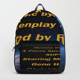 Superman cast & crew Backpack