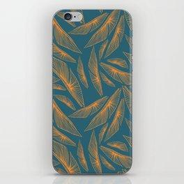 Feathered Leaf Pattern iPhone Skin