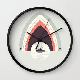 Dinner By Moonlight Wall Clock
